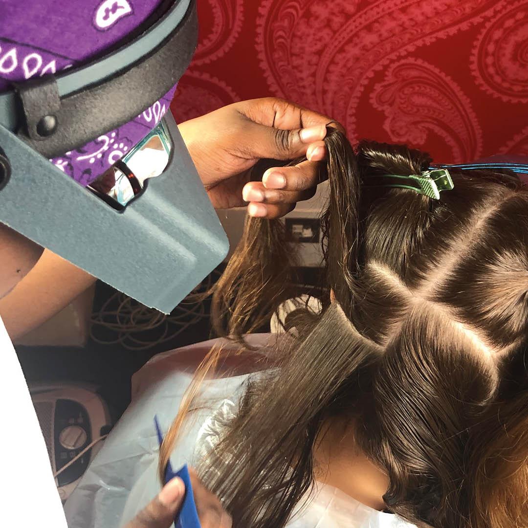 Hairforce Nit picking
